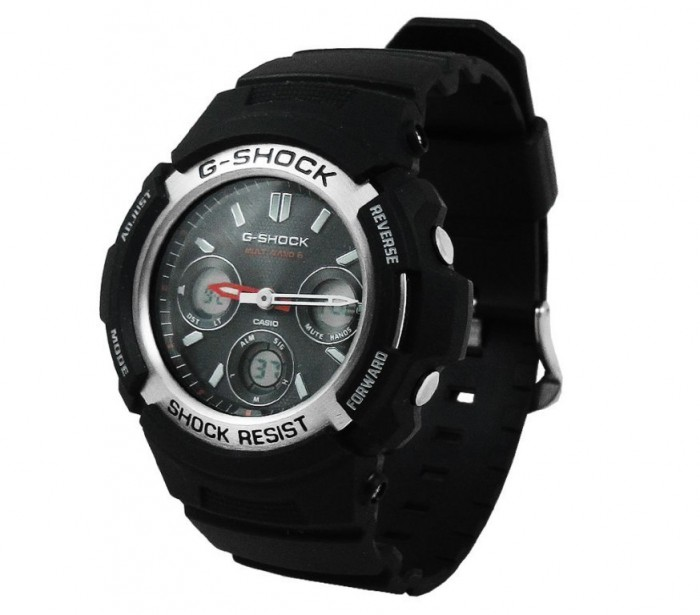 casio-men-s-g-shock-analog-digital-multi-function-black-resin-9 The Best 40 Sport Watches for Men