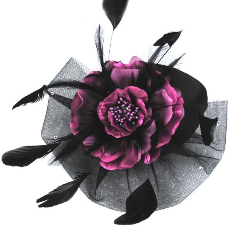 charm_handmade_purple_flower_hair_accessories_wholesale_brooches_and_pins_wholesale_hair_accessories 45 Handmade Brooches to Start Making Yours on Your Own