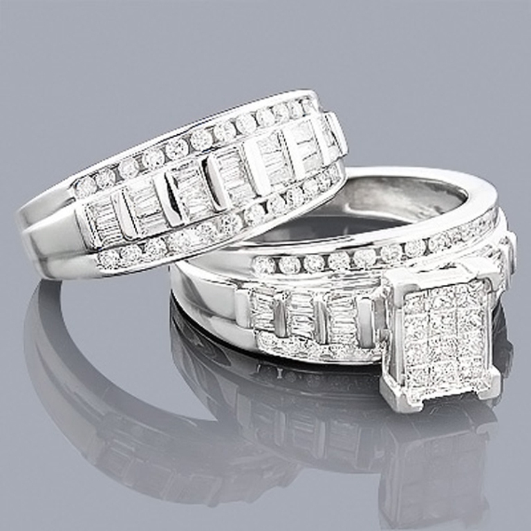 cheap-wedding-ring-insurance-61 35 Dazzling & Catchy Bridal Wedding Ring Sets
