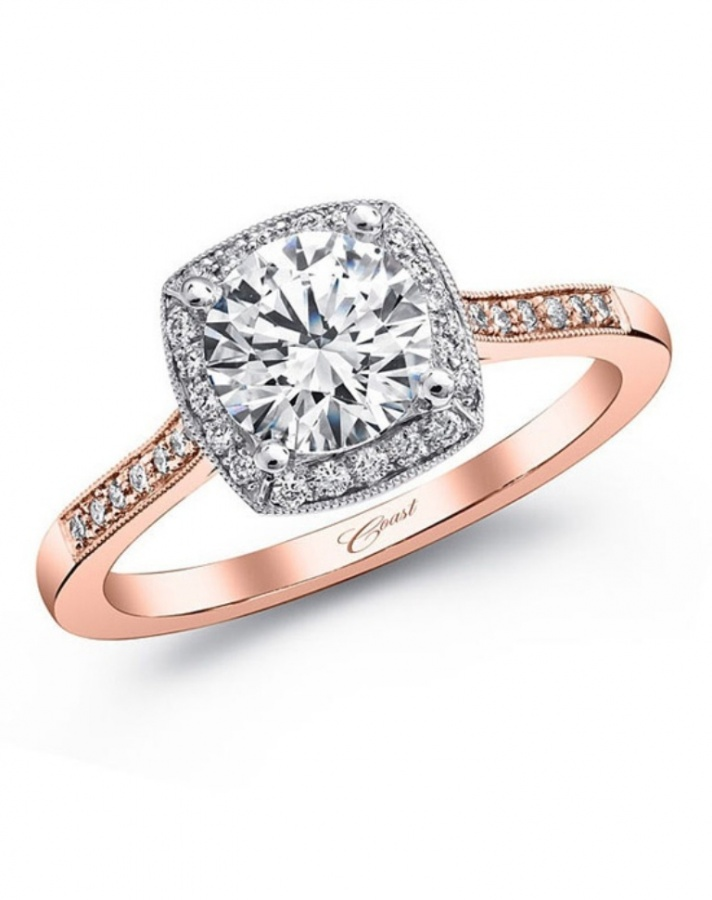 coastrosegoldring Top 60 Stunning & Marvelous Rose Gold Wedding Bands