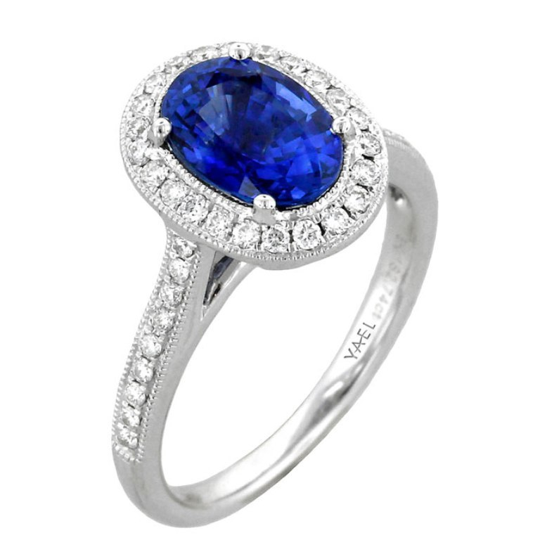 color-engagement-rings-Yael-01899 60 Magnificent & Breathtaking Colored Stone Engagement Rings