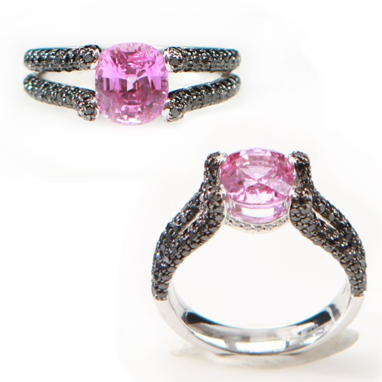 colorful-engagement-rings-colored-stones-002 60 Magnificent & Breathtaking Colored Stone Engagement Rings