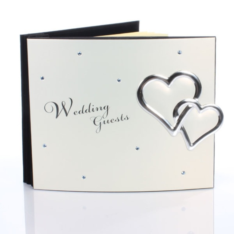 crystal-hearts-wedding-guest-book 35 Best Affordable & Catchy Bachelorette Party Gift Ideas