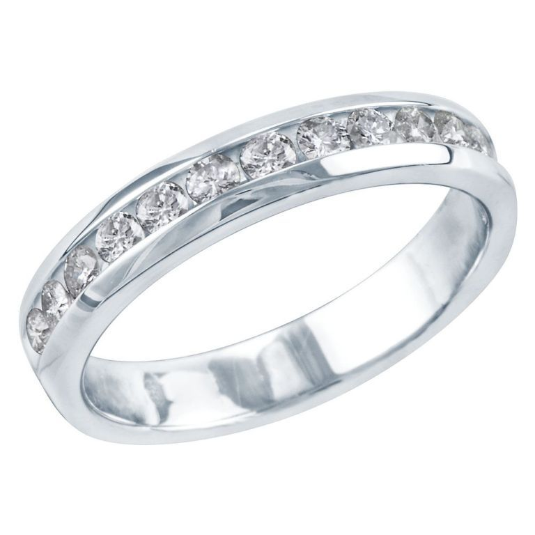 diamond-wedding-band-2012031687 60 Breathtaking & Marvelous Diamond Wedding bands for Him & Her