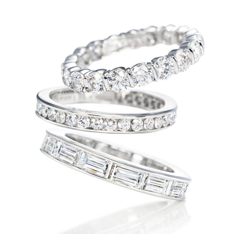 diamond-wedding-rings-harry-winston-35-rev3 60 Breathtaking & Marvelous Diamond Wedding bands for Him & Her