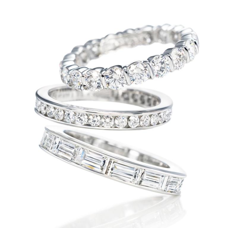 diamond-wedding-rings-harry-winston-35-rev3 60 Breathtaking & Marvelous Diamond Wedding bands for Him & Her