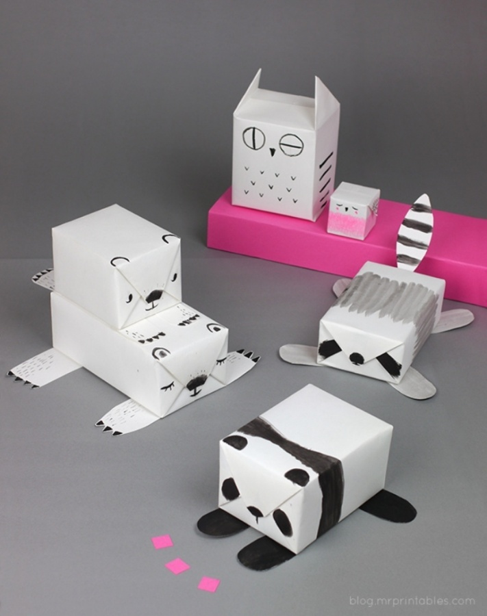 diy-animal-gift-wrapping-ideas 40 Creative & Unusual Gift Wrapping Ideas