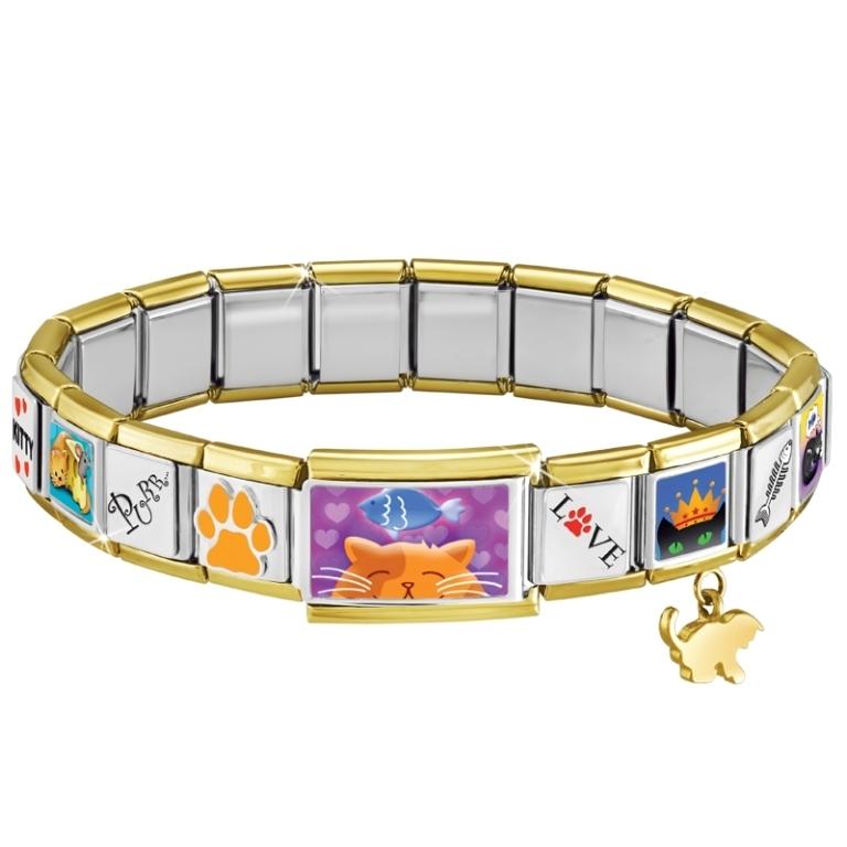 e71ff774-e68b-4526-ad3f-9b31a424defe 25 Amazing & Catchy Italian Link Charm Bracelets