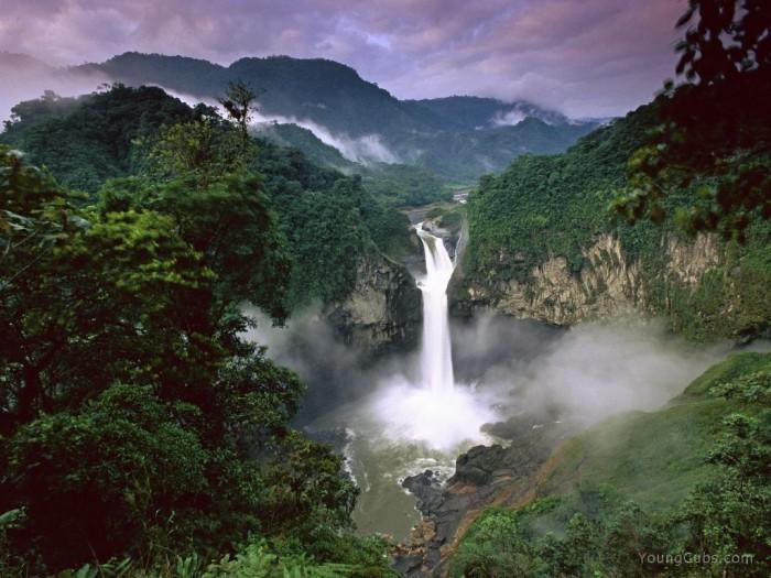 ecuador-falls Top 10 Greatest Countries to Retire