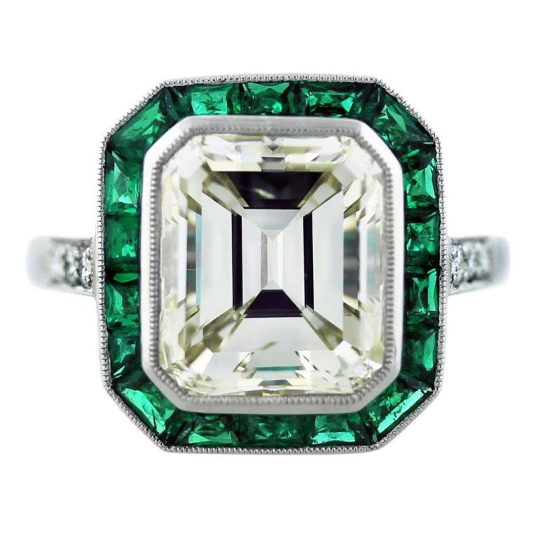 engagement-ring-eye-candy-art-deco-engagement-L-n6MNm5 60 Magnificent & Breathtaking Colored Stone Engagement Rings