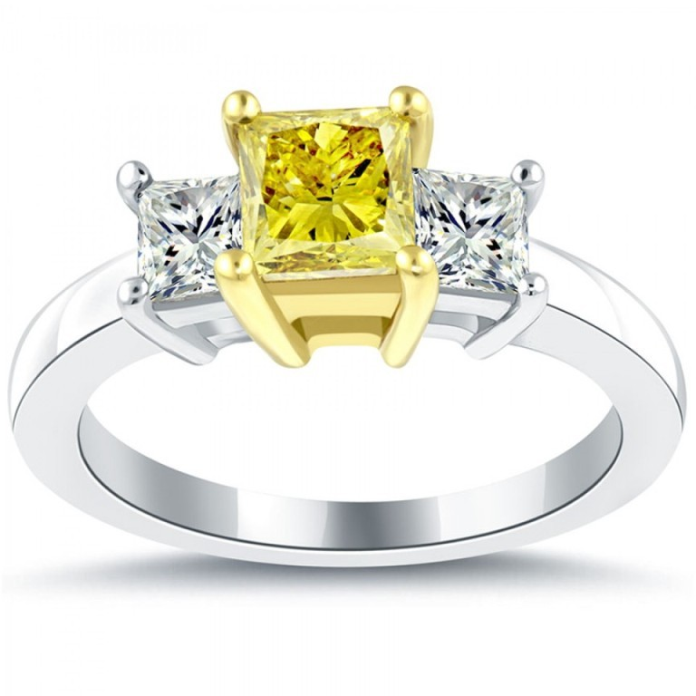 fd-005-1_8 60 Magnificent & Breathtaking Colored Stone Engagement Rings