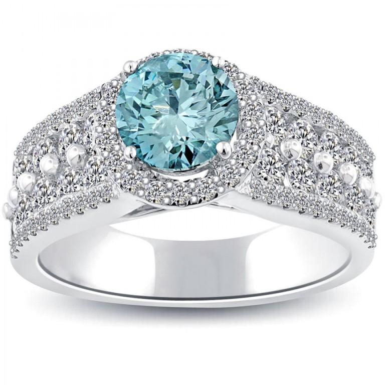 fd-589-1_2 50 Unique Vintage Classic Diamond Engagement Rings
