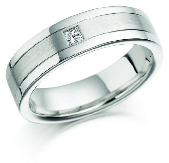 fe6812e0dfa6c24a_3839682562_20e121cf22_z_princess_cut_wedding_rings_for_women 60 Breathtaking & Marvelous Diamond Wedding bands for Him & Her