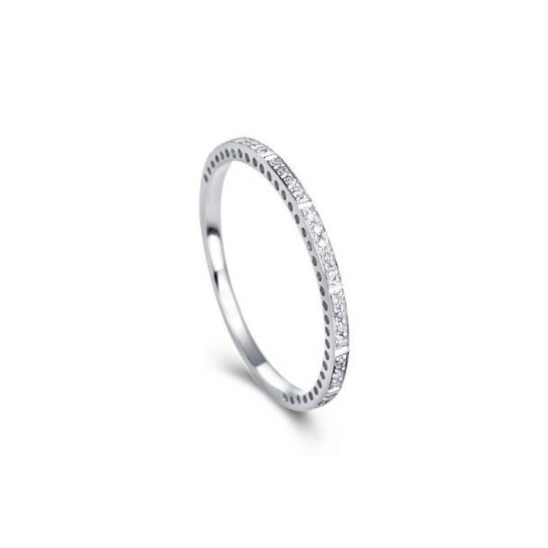 ferris-wheel-eternity-diamond-wedding-band 60 Breathtaking & Marvelous Diamond Wedding bands for Him & Her