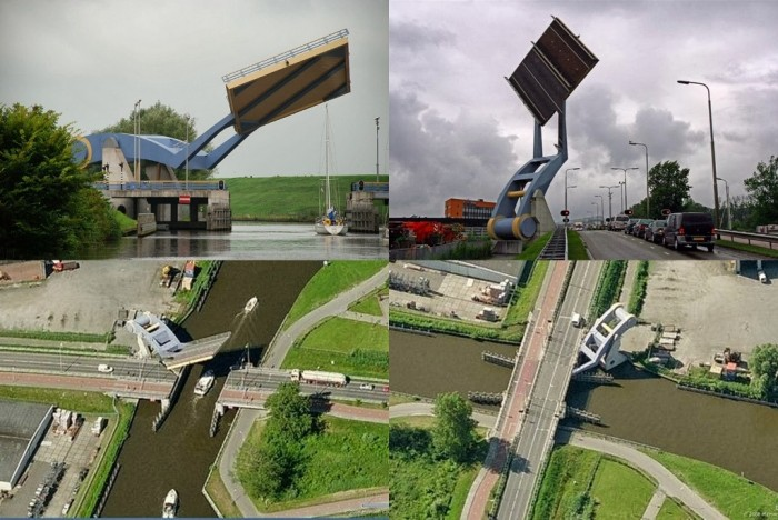 flying-drawbridge Have You Ever Seen Breathtaking & Weird Bridges Like These Before?