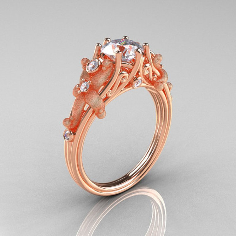 full_size2 Top 70 Dazzling & Breathtaking Rose Gold Engagement Rings