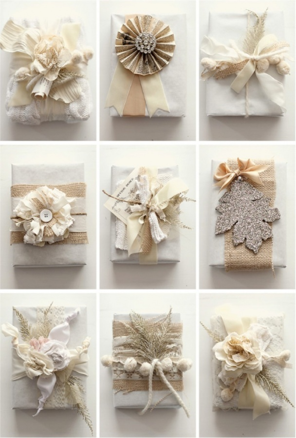 gift-wrap-ideas8 40 Creative & Unusual Gift Wrapping Ideas