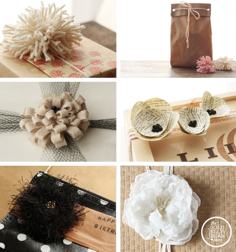 gift-wrap-montage 40 Creative & Unusual Gift Wrapping Ideas