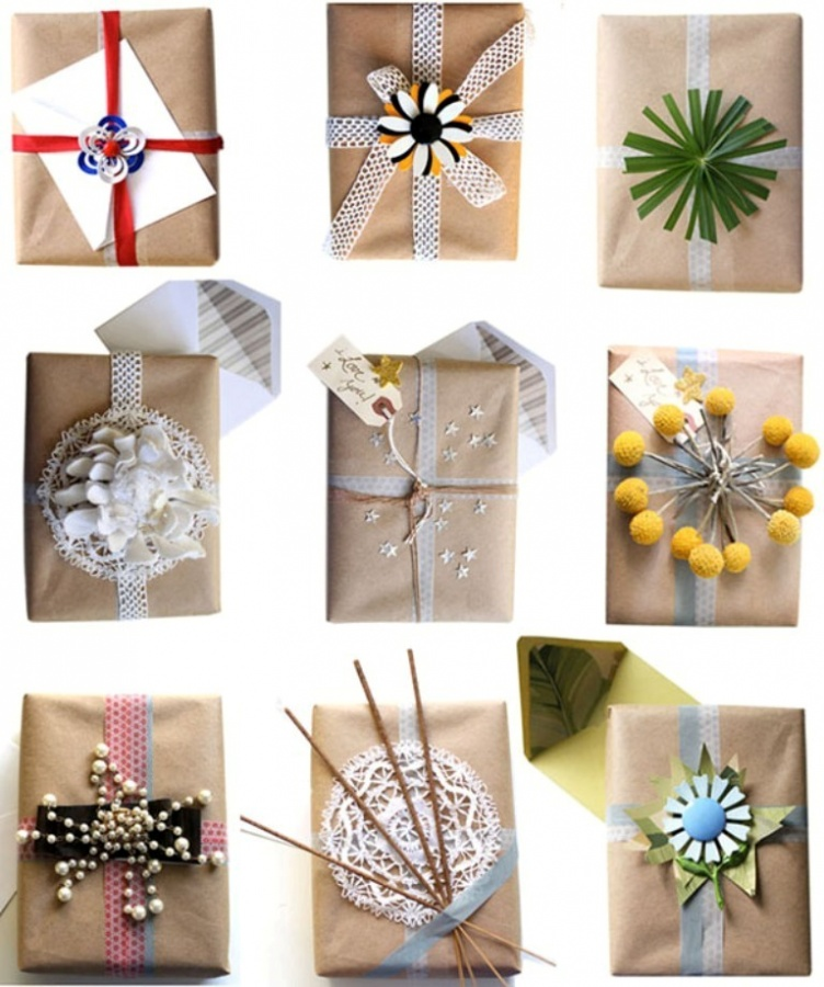 gift-wrapping-ideas 40 Creative & Unusual Gift Wrapping Ideas
