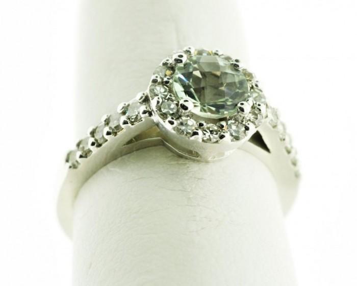 green-amethyst-diamond-ring2-1024x819 30 Fascinating & Dazzling Green diamond rings