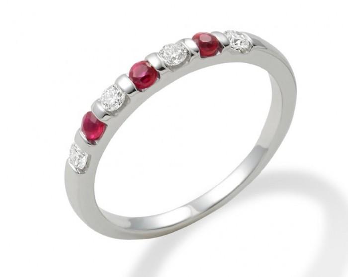 gwr0188ru-1-800 55 Fascinating & Marvelous Ruby Eternity Rings