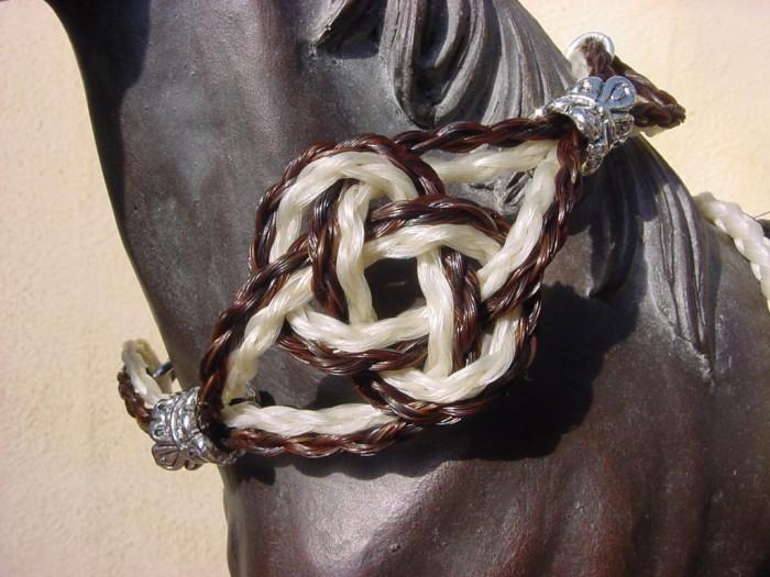 hairbracebrw1 45 Elegant & Breathtaking Horse Hair Bracelets