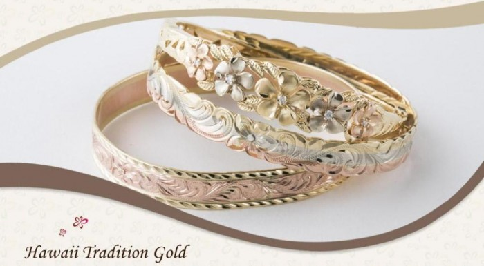 hawaiian-gold-jewelry Top 40 Gorgeous Hawaiian Wedding Rings and Bands