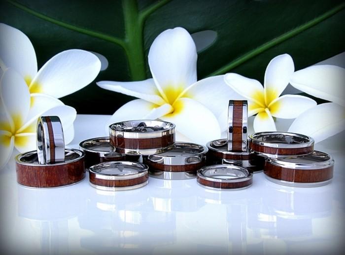 hawaiian_koa_jewelry Top 40 Gorgeous Hawaiian Wedding Rings and Bands
