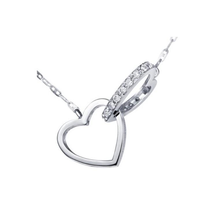 heart-shape-unique-diamond-pendant 50 Unique Diamond Necklaces & Pendants