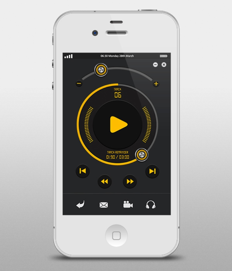 iPhone-music-player-interface Easy-to-Follow Tricks & Tips to Make Full Use of Your iPhone