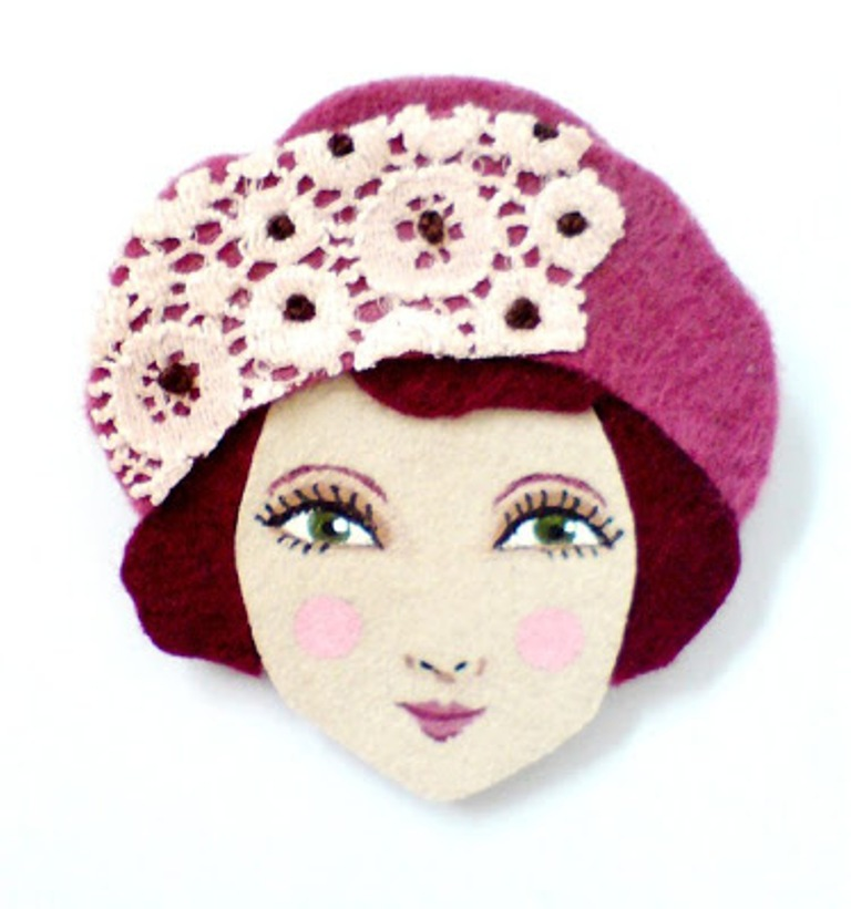 il_570xN.204728791 45 Handmade Brooches to Start Making Yours on Your Own