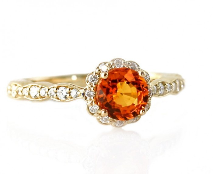 il_fullxfull.453483604_lqly1 40 Elegant Orange Sapphire Rings for Different Occasions