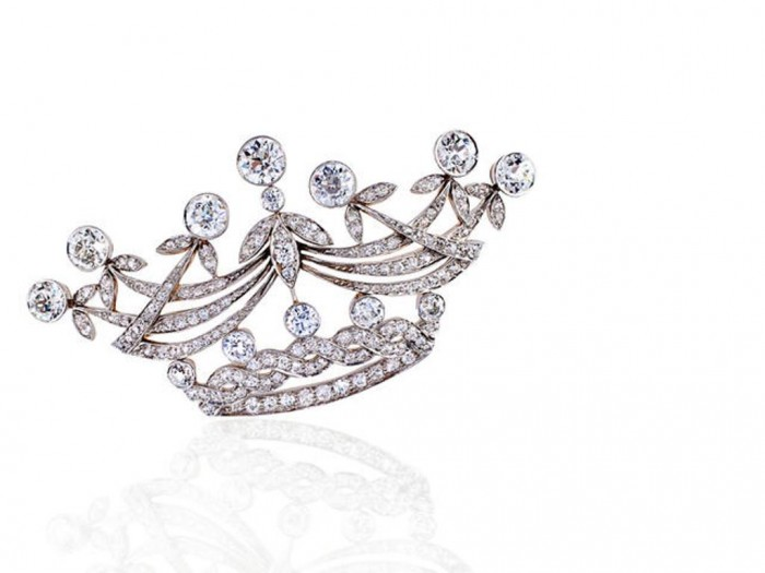image 35 Elegant & Wonderful Antique Diamond Brooches