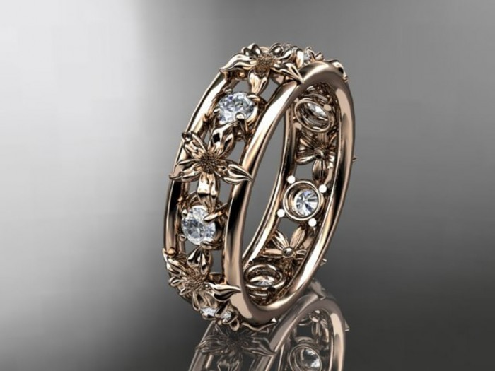 import-14kt_rose_gold_diamond_leaf_wedding_ring_engagement_ring_wedding_band_ADLR160_nature_inspired_jewelry-1d76efe3cce205608e4b1d7bff8f6afa Top 60 Stunning & Marvelous Rose Gold Wedding Bands