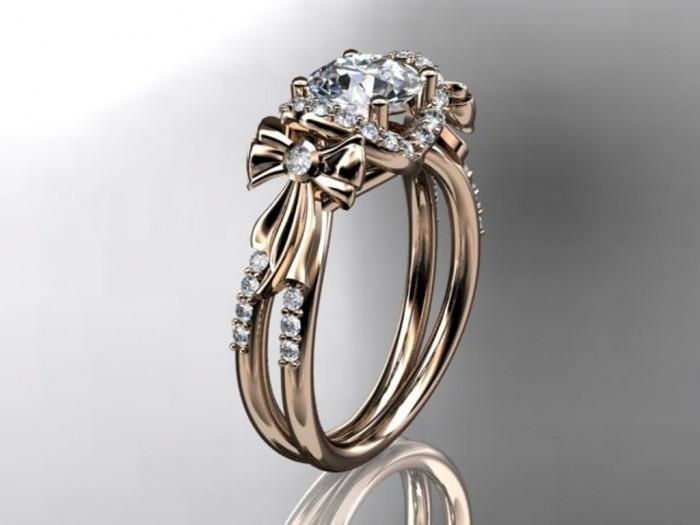 import-14kt_rose_gold_diamond_unique_engagement_ring_wedding_ring_ADER155-b33e753a0438b3da76f5377f7d4d26f5 Top 60 Stunning & Marvelous Rose Gold Wedding Bands
