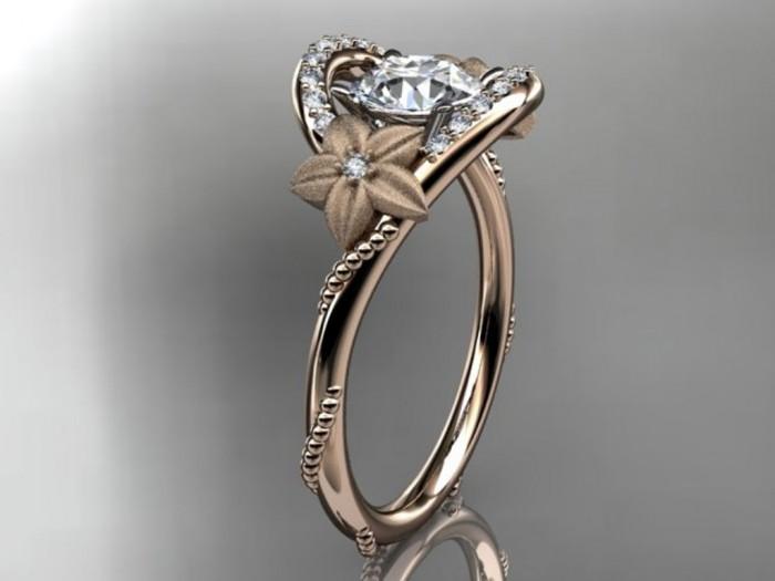 import-14kt_rose_gold_diamond_unique_engagement_ring_wedding_ring_ADLR166-6851d4d2629137614916772f5fd17f48 Top 60 Stunning & Marvelous Rose Gold Wedding Bands
