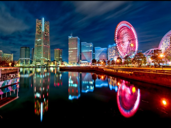 japan_tokyo_cityscapes_yokohama_city_lights_bay_1024x768_16155 Top 10 Most Powerful Countries in the World