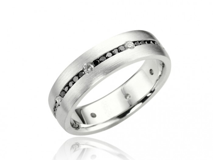 jewelers-buffalo-mens-diamond-wedding-rings-white-gold-87294 60 Breathtaking & Marvelous Diamond Wedding bands for Him & Her