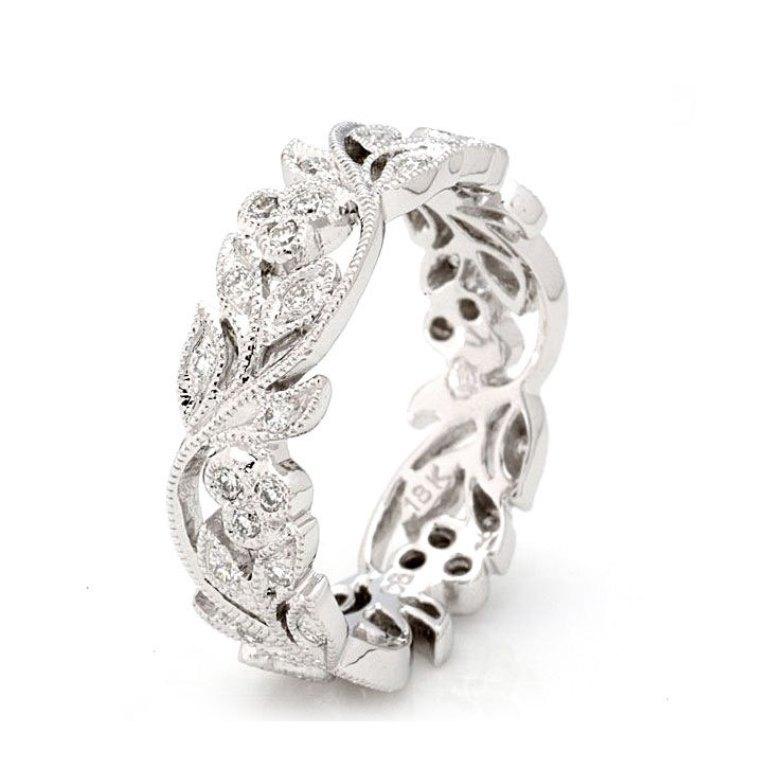 l_44ff5e94292b825498b1eb96c27f47e73cccb607 35 Dazzling & Catchy Bridal Wedding Ring Sets