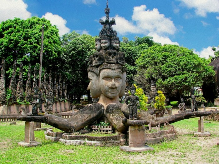 laos-Buddha-Park-Laos Top 10 Worst Governments in the World