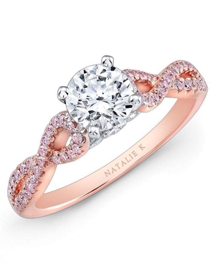 larger_image1 Top 70 Dazzling & Breathtaking Rose Gold Engagement Rings