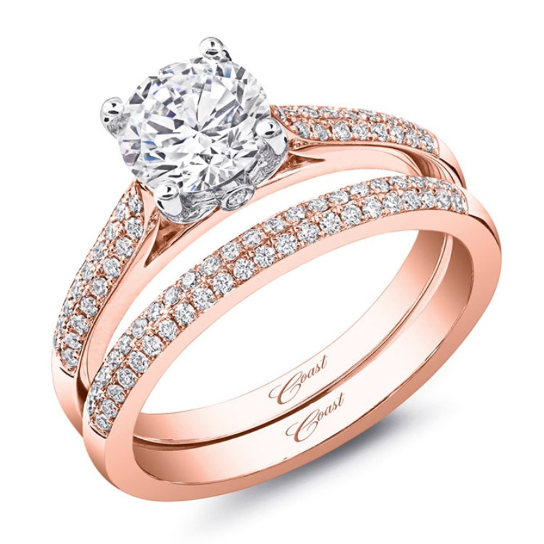 lc5446rg-wc5446rg-coast-diamond-wedding-engagement-ring-primary Top 70 Dazzling & Breathtaking Rose Gold Engagement Rings
