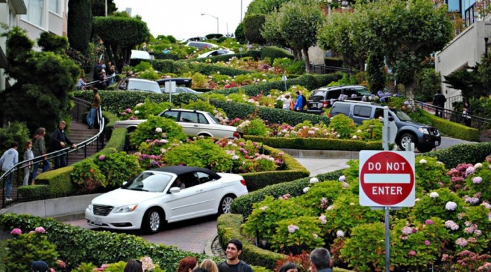 lombard 55 Most Fascinating & Weird Roads Like These Before?