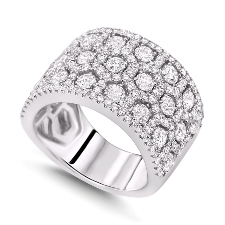 luxury-diamond-wedding-bands 60 Breathtaking & Marvelous Diamond Wedding bands for Him & Her