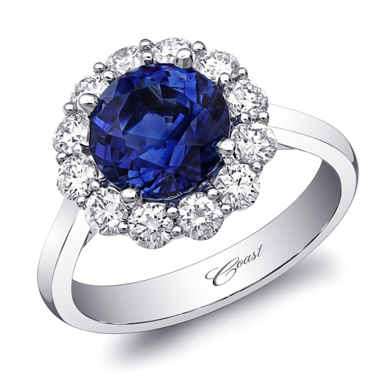 lzk0242-s-coast-diamond-wedding-engagement-ring-primary 60 Magnificent & Breathtaking Colored Stone Engagement Rings