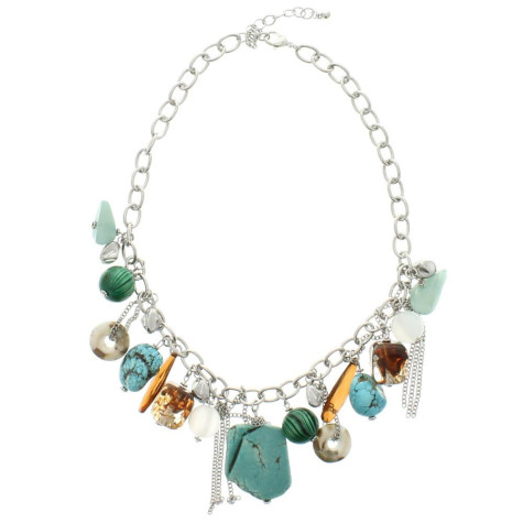 m-138-Silver-Necklace-Multicolor-Stones-Turquoise_1024x1024-475x475 How To Choose The Right Necklace For Your Dress?