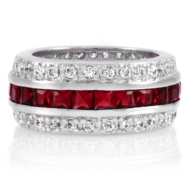 majesty-cz-eternity-band-ring-ruby-final-sale 55 Fascinating & Marvelous Ruby Eternity Rings