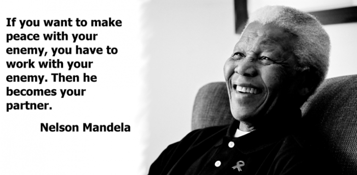 "mandela-enemies-quote The Anti-apartheid Icon "" Nelson Mandela "" Who Restored His People's Pride"