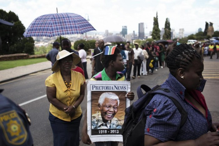 "mandela-funeral-1 The Anti-apartheid Icon "" Nelson Mandela "" Who Restored His People's Pride"