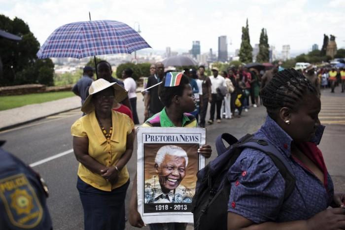 "mandela-funeral-1 The Anti-apartheid Icon "" Nelson Mandela "" Who Restored His People's Pride"